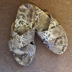 Seychelles Lighthearted Exotic Slip Sandals